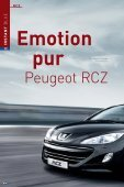 Emotion pur - Peugeot - Seite 6