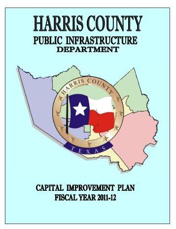 harris county public infrastructure department capital improvement ...