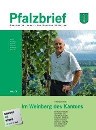 Pfalzbrief - Kanton St.Gallen