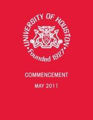 CommenCement - University of Houston