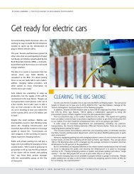 Get ready for electric cars - Canadian Parking Association