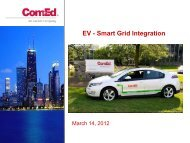 EV - Smart Grid Integration - Electrical and Computer Engineering