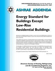 Energy Standard for Buildings Except Low-Rise Residential ... - ashrae