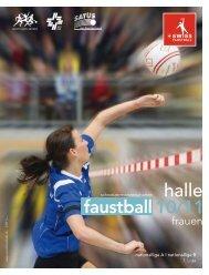Programmheft Halle 2010/11 als PDF - Swiss Faustball