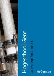 Vragenlijst voor het verslag 2011 over uw ... - Hogeschool Gent