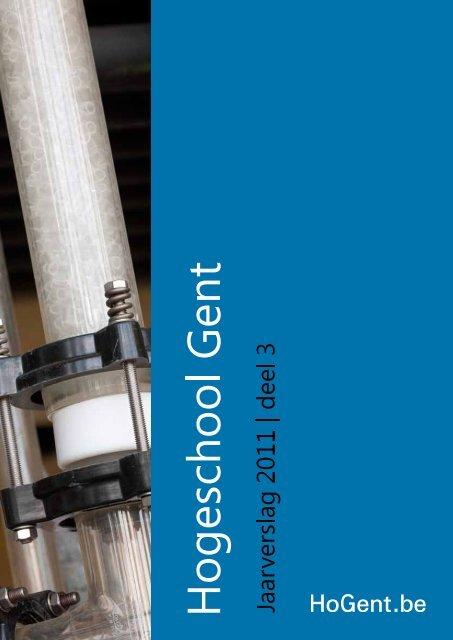 Vragenlijst voor het verslag 2011 over uw     - Hogeschool Gent