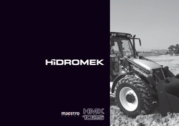 102 S Maestro - Hidromek