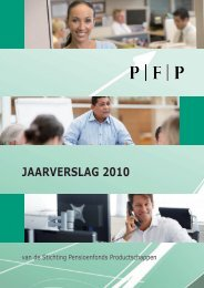 Jaarverslag 2010 - PFP - PBOD