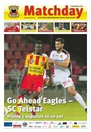 dè voetbalclub van Deventer - Go Ahead Eagles