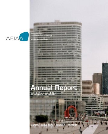 Annual Report - AFIAA