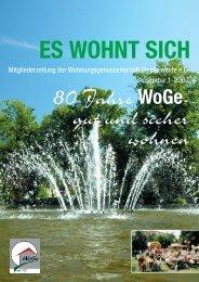 Mitgliederzeitung 07.01 - Wohnungsgenossenschaft Finsterwalde eG