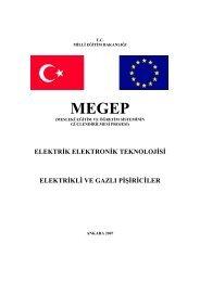 elektrik elektronik teknolojisi elektrikli ve gazlı pişiriciler - Milli Eğitim ...