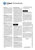 H-Boot Trimmanleitung - Seite 2