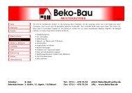 Drucken - Beko-Bau