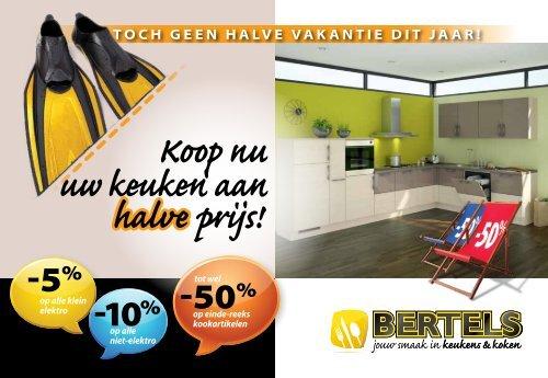 Koop nu uw keuken aan halve prijs! - Bertels
