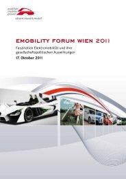 Emobility Forum Wien 2011 - Online Archiv Artevent GMBH