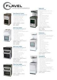Aspen 50 Victoriana Cascade 50 Freestanding Cooking ... - Beko