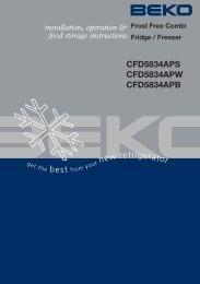 Beko CF5834