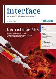 interface, 12. Jarhgang 2_2009, ISSN 1869-4713 - Syhag CAE Tools