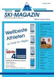 SKI-MAGAZIN - Bayerischer Skiverband