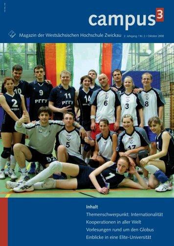 Magazin der Westsächsischen Hochschule Zwickau 2 ... - Graf Text