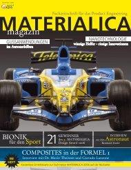 Composites in Automotive & Aerospace - Materialica-magazin