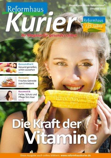 Ihr Magazin für gesundes Leben - FlippingPages.de