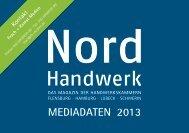 Mediadaten 2013 das Magazin der ... - Nord-Handwerk