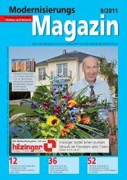 Modernisierungs 9/2011 Magazin - Hilzinger