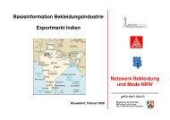 Netzwerk Bekleidung und Mode NRW gefördert durch ... - ZiTex