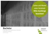 Bachelor - Fachhochschule Bielefeld