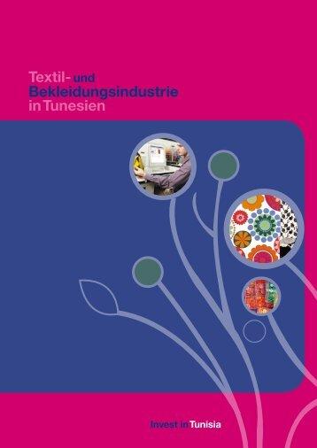in Tunesien Bekleidungsindustrie Textil-