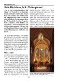 Weihnachtspfarrbrief 2007 - Pfarramt St. Christophorus - Seite 2