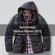 Sportswear Herbst/Winter 2012 - Bekleidungshaus Koch