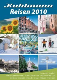 Telefon 09105 222 - Kuhlmann - Reisen
