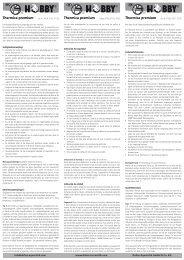 Instrucciones de uso / Thermica Premium - Dohse Aquaristik KG