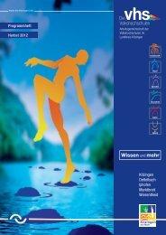 Gesundheit und Fitness - vhs ...in Kitzingen