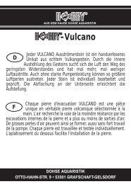 -Vulcano - Dohse Aquaristik KG
