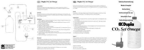 CO2 Set Omega - Dohse Aquaristik KG