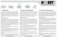 Instrucciones de uso / Abridor - Dohse Aquaristik KG