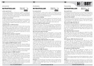 Istruzioni per l'uso / Nitrat-Killer - Dohse Aquaristik KG
