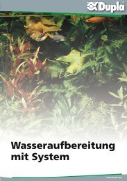 Wasseraufbereitung mit System - Dohse Aquaristik KG