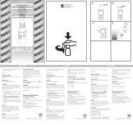 pH6_Gebrauchsanw (Page 1) - Dohse Aquaristik KG
