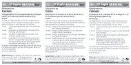 Modes d'emploi / Test Case Ca/KH - Dohse Aquaristik KG