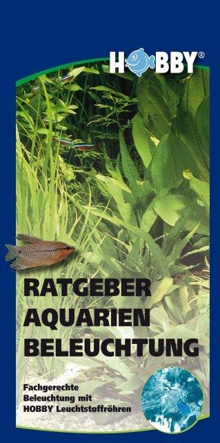 RATGEBER AQUARIEN BELEUCHTUNG - Dohse Aquaristik KG
