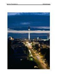 Bankettmappe des Berliner Fernsehturms