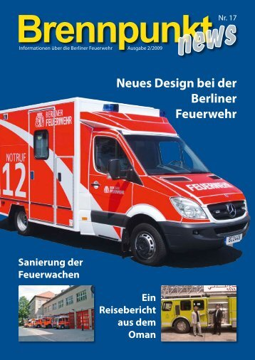 Neues Design bei der Berliner Feuerwehr - Feuerwehrmuseum Berlin