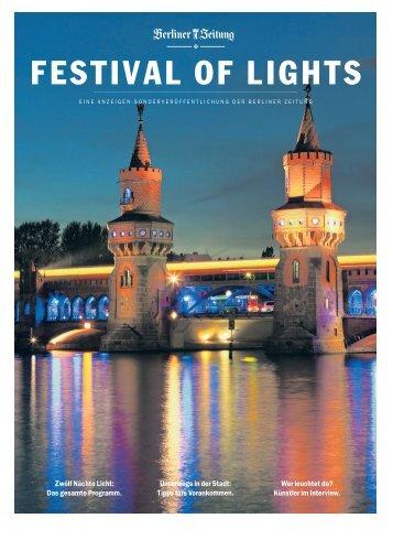 Viele Wege führen zum Festival of Lights - Berliner Zeitung