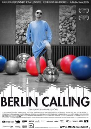 berlin calling pressemappe - Hannes Stöhr