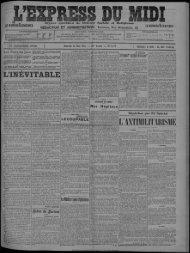 FIL TÉLÉGRAPHIQUE SPÉCIAL Samedi 24 Mai 1913. — 23* Anaée
